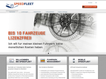 Speedfleet Fuhrparkmanagement Software